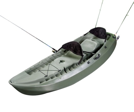 เรือคายัค Fishing Sit On Top Kayak (Olive Green)
