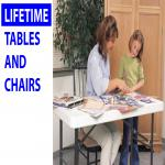Lifetime Tables and Chairs